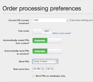 Dropship Purchase Order Automation
